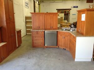 Kitchen #1 at Waterloo restore with dishwasher
