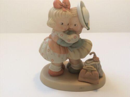 "Vintage Enesco Figurine Memories of Yesterday 1990 ""The Greatest Treasure..."