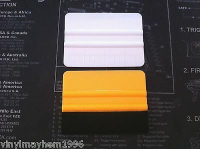 Felt Wrapped And Avery Squeegee Vinyl Applicator Tool Combo Sticker Decal Wrap