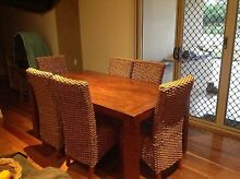 Dining Table and Chairs Bridgeman Downs Brisbane North East Preview