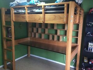 Loft Bed with desk Robina Gold Coast South Preview