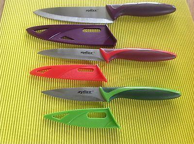 Kupit Orig Zyliss Messer Set 3 Tlg Mit Klingen Na Ebay De Iz