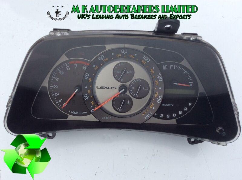 Lexus IS200 Auto Model From 98-05 Speedo meter Clock, Dials (Breaking For Parts)