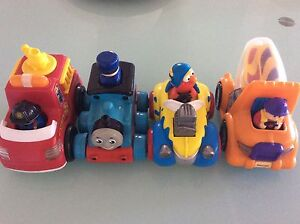 Push and Go Toddler Cars Elmo Thomas Fire Truck Cement Mixer Ashgrove Brisbane North West Preview