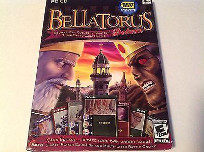 Bellatorus Deluxe Best Buy Exclusive PC 2009 Game New