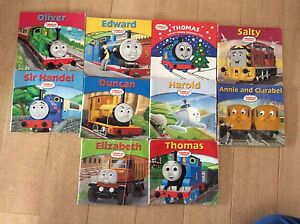 Thomas the tank engine 10 books Banksia Rockdale Area Preview