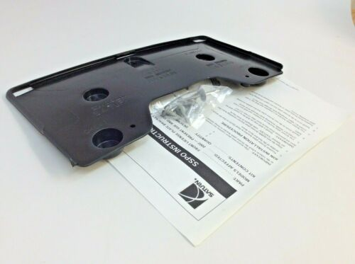 07-10 Saturn Sky Front Bumper License Plate Mounting BRACKET new OEM 10364149