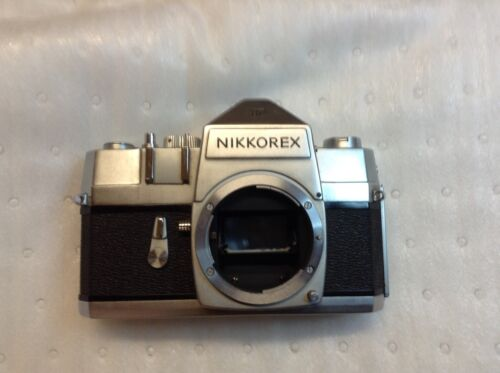 Nikon Nikkorex F SLR Film Camera Body only