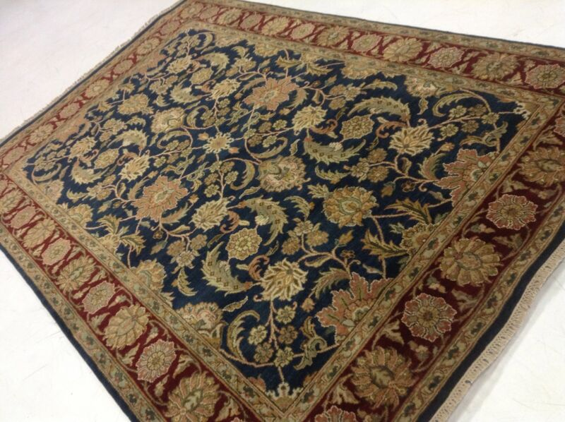 Traditional Floral Mahal 6x9 Persian Oriental Hand Knotted Area Rug 6