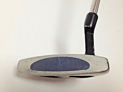"""GOLF PUTTER JACK NICKLAUS MILLED FACE WITH INSERT RIGHT HAND 34"""" LONG USED  df"""