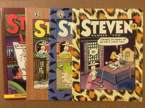 Steven 2 3 4 5 Doug Allen Kitchen Sink 1990 Series