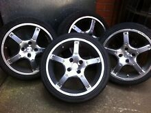 """17""""momo racing wheels 4x114 Mill Park Whittlesea Area Preview"""