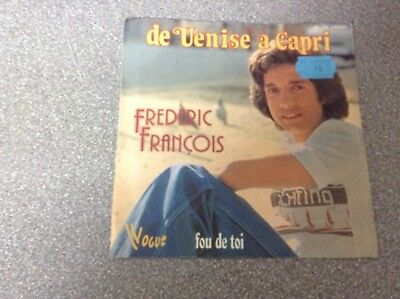 Disque vinyle 45 tours / frederic françois, de venise à capri