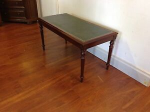 Leather Top Coffee Table Mulgrave Monash Area Preview