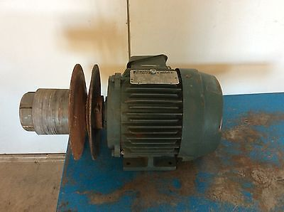 Reliance Electric P18g4902 Aj 3 Hp 3 Phase 230460 Vac 1755 Rpm 182t Motor