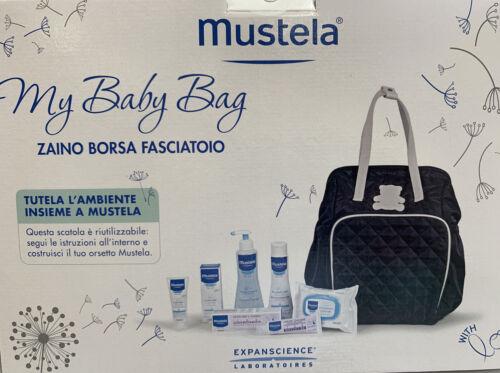 MUSTELA my baby bag - zaino borsa fasciatoio con prodotti per il cambio