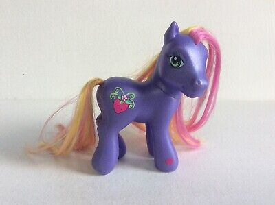 My Little Pony G3 BUMBLEBERRY Figure, Scootin' Along Ponies 2005