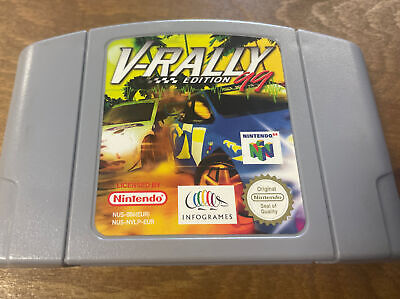 N64 V-Rally Edition 99 by Infogrames Working Cartridge Only