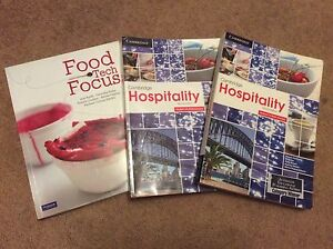 HSC Food tech and hospitality text books Cherrybrook Hornsby Area Preview