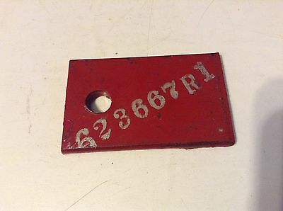 623667r1 - A New Fertilizer Boot Clamp For A International 234cu-f250 Planter