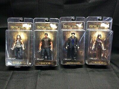 The Twilight Saga New Moon Bella, Alice, Edward, Jacob unopened Neca figures
