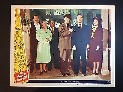 "11"" x 14""  ""THE DARK HORSE"" 1946 FILM PROMO MOVIE THEATER LOBBY CARD"
