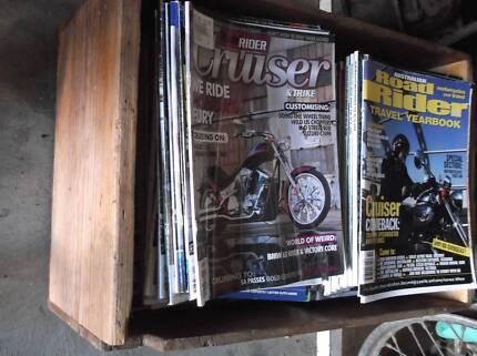 Australian Road Rider Magazines  & Australian Motorcyclist