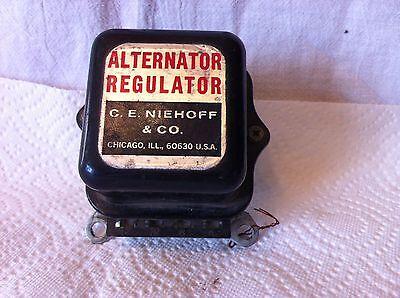 Niehoff alternator regulator.  Item:  0822