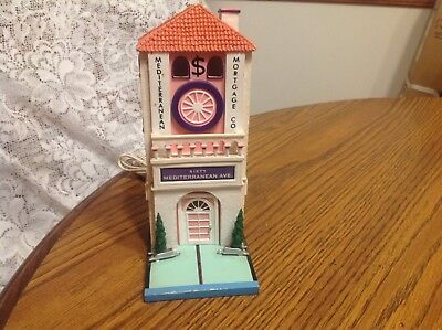 Dept. 56 Monopoly Collectible Mediterranean Mortgage Co.Building