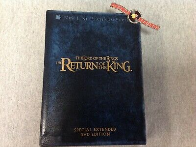 Lord of The Rings Return of The King Special Extended USED DVD Piranha Records