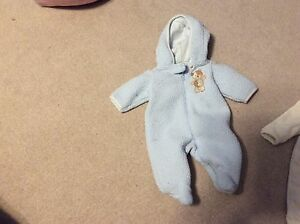 Blue 3 month pram suit