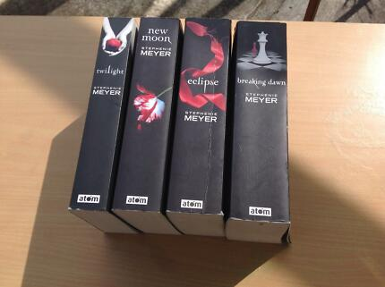 Twilight Saga Books Twilight Saga Book Set