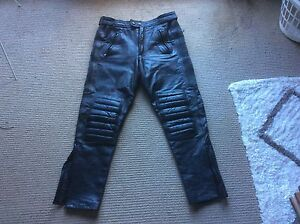 Leather motorbike pants size 34 Newport Pittwater Area Preview