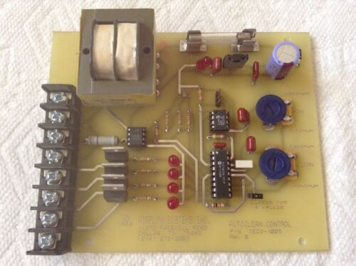 Airflow Systems Inc. 7EG3-1005 Autoclean Control Board