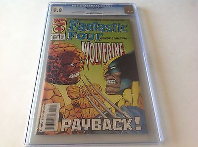 FANTASTIC FOUR 395 CGC 9.8 WHITE PAGES THING VS WOLVERINE MARVEL COMICS