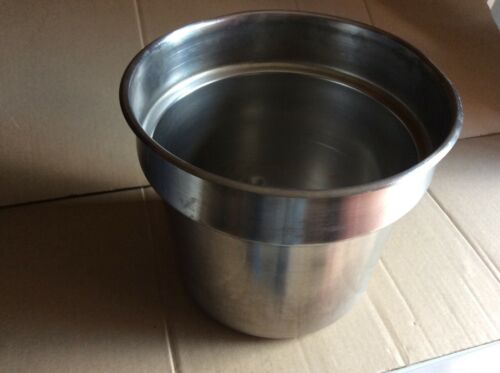 STAINLESS STEEL INSET PAN 7 QT USA NSF T304