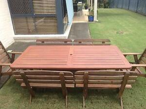 Kwila rectangle outdoor table Robina Gold Coast South Preview
