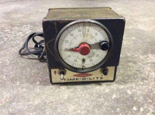 Time-O-Lite Professional Photography Darkroom Timer Model P-59