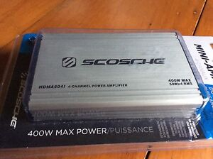 Hi there...I have a 400 watt car amp for sale new still in box