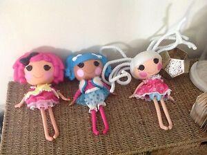 3 large La La Loopsy dolls Adamstown Heights Newcastle Area Preview