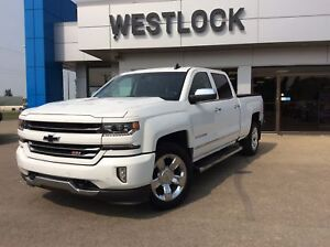 2017 Chevrolet Silverado 1500 1LZ Heated & Cooled Leather Seats