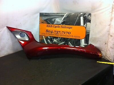1996 96 TRIUMPH TROPHY 1200 LEFT REAR TAIL FAIRING COVER PANEL TURN SI