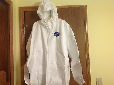 White Snow Goose Kleenguard A40 Liquid Particle Protection Coveralls 3xl