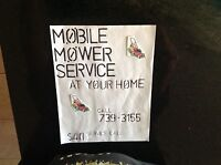 Mobile mower repair at your home same day service