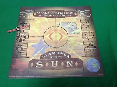 Walt Wilkins Mystiqueros Diamonds In The Sun Promo Poster Flat 12