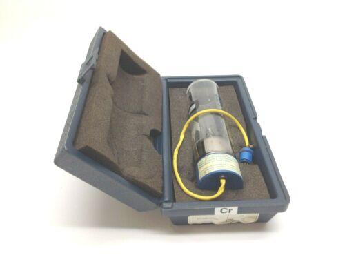 Fisher 14-386-105A Chromium CR Element Ne Neon Gas Hollow Cathode Bulb