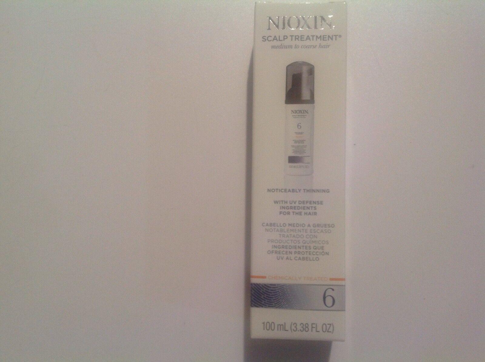 Nioxin System 6 Scalp & Hair Treatment, 3.4 oz.