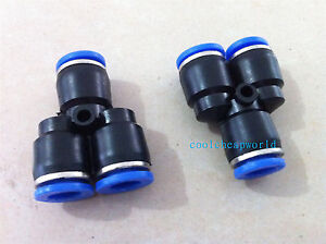 20pcs-8mm-Push-In-Equal-Y-Pneumatic-Jointer-Connector