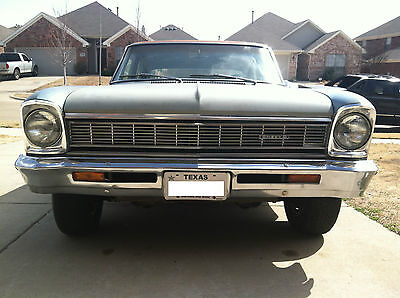Chevrolet : Nova 4 Door Sedan 1966 Chevy II Nova - 4 Door Sedan