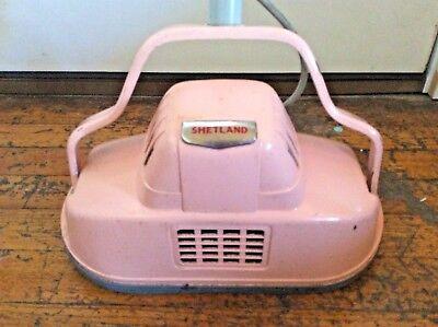 Vintage Shetland Electric Floor Scrubber Machine Polisher Buffer No Brush Ta-15